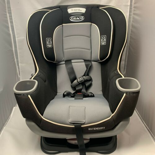 Graco Extend2Fit Convertible Car Seat | Ride Rear Facing Longer -Gotham- 1963212