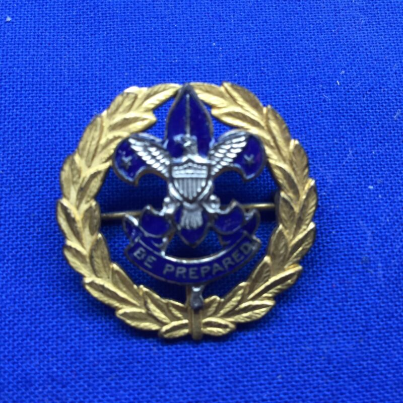 Boy Scout District Commissioner Collar Pin Horizontal Pin Back