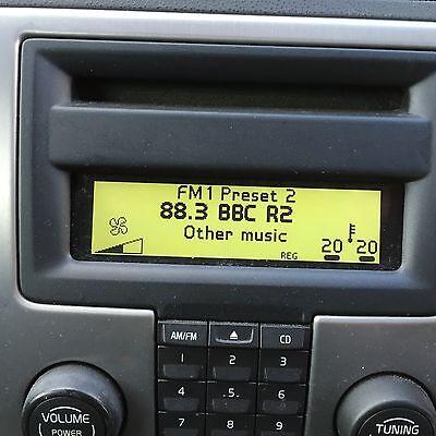 volvo c30 s40 v50 c70  icm radio display panel 2005 - 2009