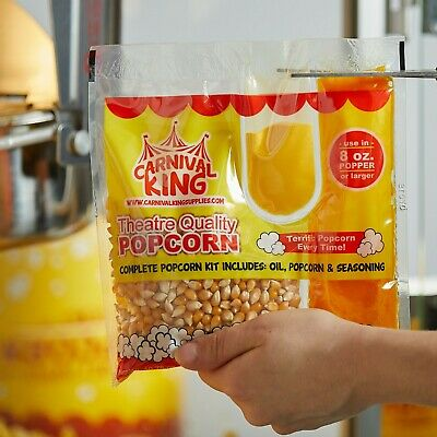 Carnival King All In One Popcorn Kit 8 Oz To 10 Oz Poppers 24case Free Ship 48