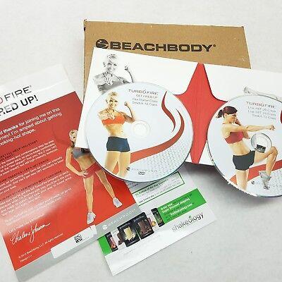 New Beachbody Turbofire   2 Dvd Workout Starter Pack   Factory Sealed Turbo Fire