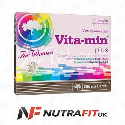 OLIMP VITA-MIN PLUS FOR WOMEN multi vitamin mineral 30 caps