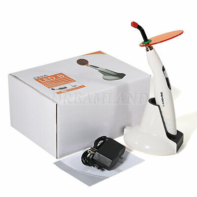 Dental Led.b Curing Light Lamp Cure 1400mw Woodpecker Style Wireless Usa 110v