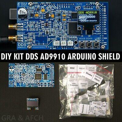 Diy Kit Dds Ad9910 Arduino Shield Rf Signal Generator 600mhz 1.5gsps Low Spurs