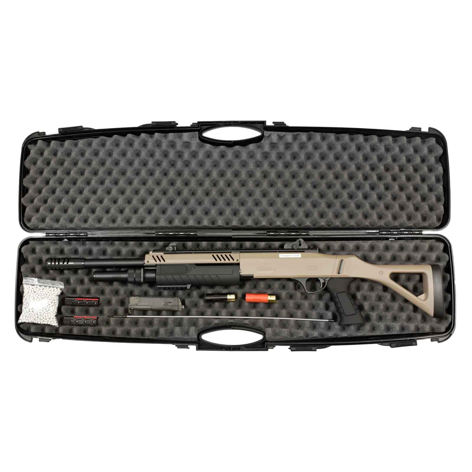 "Fabarm STF12 18""  Softair-Gewehr Dark Earth Kaliber 6 mm BB > 0,5 Joule (P18)"