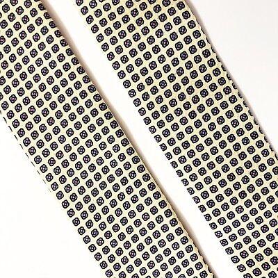 Floral Leather Suspenders - Trafalgar Yellow Silk Suspenders Brass Leather Braces Tabs Geometric Floral