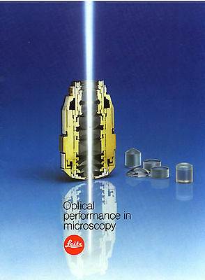 Leitz Microscope Optical Performance In Microscopy Book On Cd