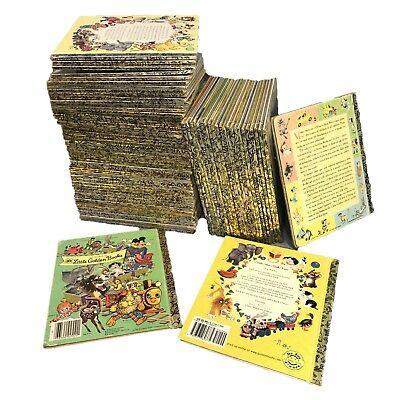 Lot of 20 Little Golden Books series, Disney, Christian, Modern & Vintage random