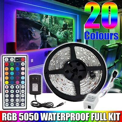 16.4ft Waterproof LED Marine Boat Yacht Deck Bow Pontoon Colorful Strips Deco Home & Garden