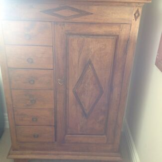 Balinese Teak cabinet with drawers North Narrabeen Pittwater Area Preview