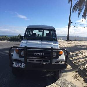 Collectable 1987 Toyota LandCruiser Troop Carrier The Taj Ma Haul St Kilda Port Phillip Preview