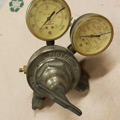 Victor Vts 452 B Regulator Gauges Hydrogen