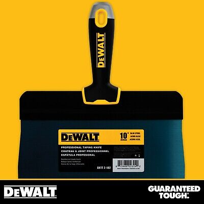 Dewalt Taping Knife 10 Premium Blue Steel Big Back Drywall Taping Tool