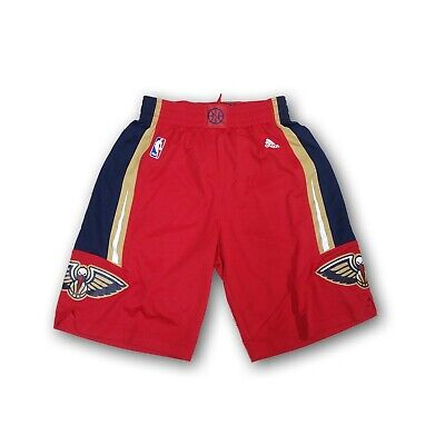 New Orleans Pelicans Adidas NBA Men's Red Swingman Shorts New With Tags Adidas Nba Swingman Short
