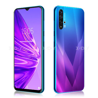 Android Phone - 2020 New 6.6 inch Android 9.0 Unlocked Cell Phone Smartphone Quad Core Dual SIM
