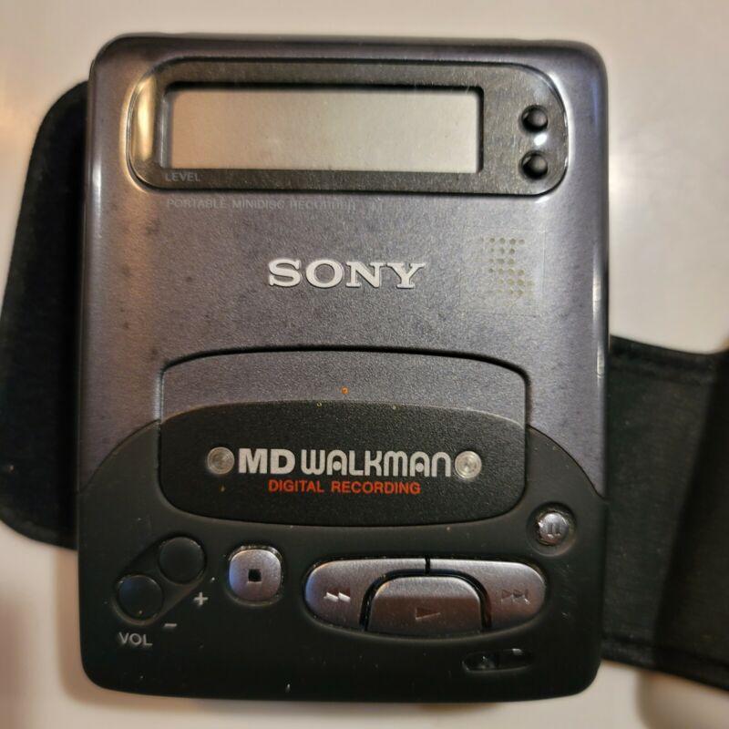 Sony MD Walkman mini disc player belonged to late Leon Russel
