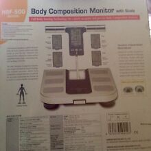 NEW IN BOX OMRON Full Body Composition Monitor & Scales 7 Indicators Fitzroy North Yarra Area Preview
