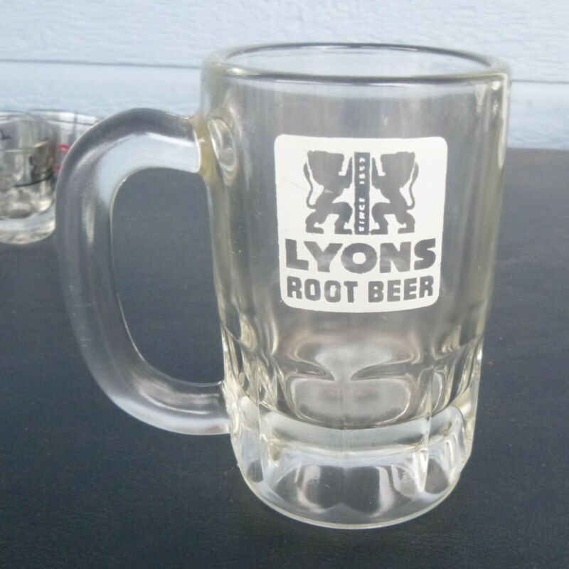 "vintage Lyons Root Beer Mug 5""  San Francisco Bend Oregon"