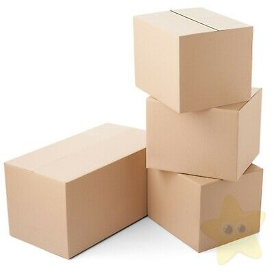 25 12X9X4 A4 SIZE CARDBOARD MAILING BOXES 12
