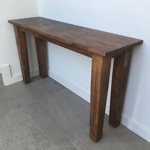 Rustic Console Table (Freedom) Wellington Wellington Area Preview