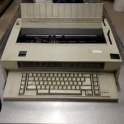 Wheelwrighter Ibmlexmark Electric Type Writer Word Processor  Wheelwriter 3