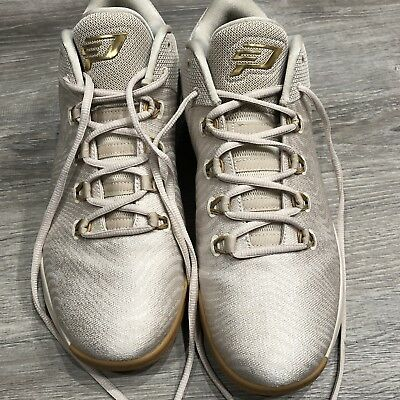 finest selection 2490e ee429 Mens Air Jordan CP3.X AE Light Orewood Brown Metallic Gold Gum Yellow 897507 -100