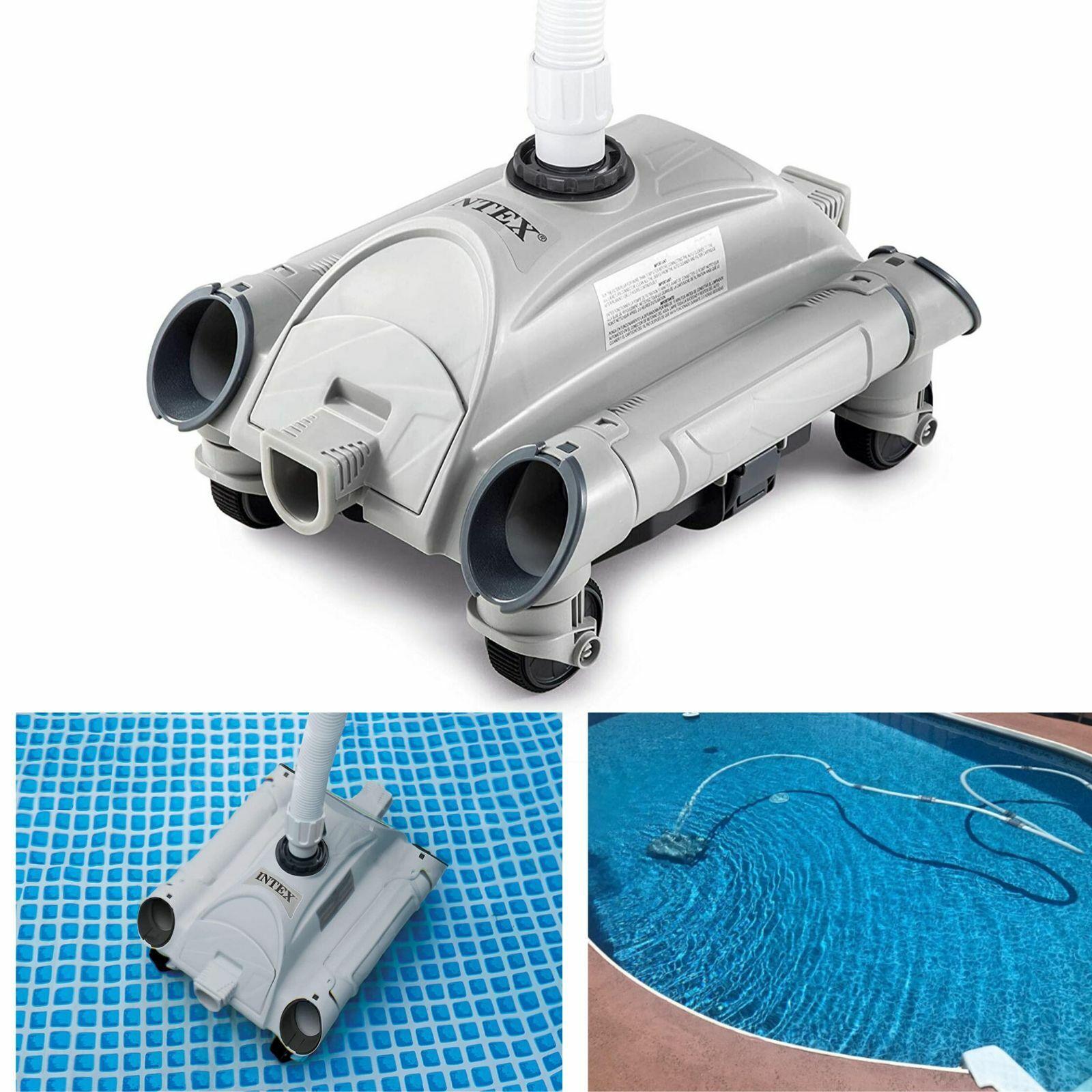 Intex Automatic Pool Cleaner Pressure Side Vacuum Cleaner w/