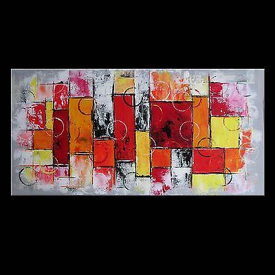 BILD ABSTRAKT MALEREI ORIGINAL ACRYL GEMÄLDE KUNST MODERN UNIKAT ART #A11