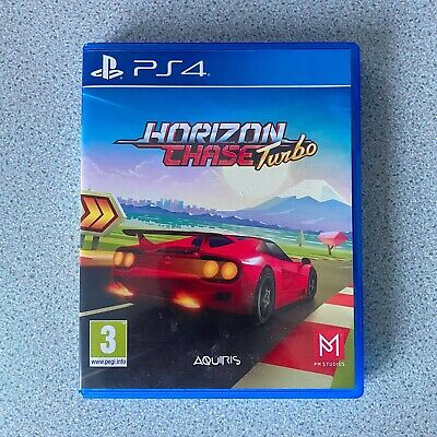 Horizon Chase Turbo PS4 PlayStation 4 Car Racing Game. Played Once, Excellent!