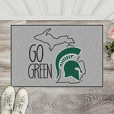 """Michigan State Spartans Southern Style 19"""" X 30"""" Starter Area Rug Mat"""