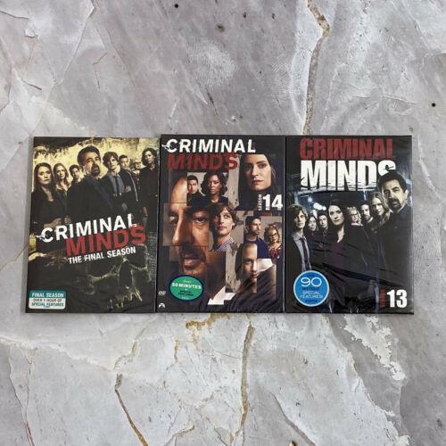 Criminal Minds Season 13 14 15 13-15 (DVD,13-Disc) Sealed Free Shipping New