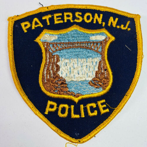 Paterson Police New Jersey Patch (A4-A)