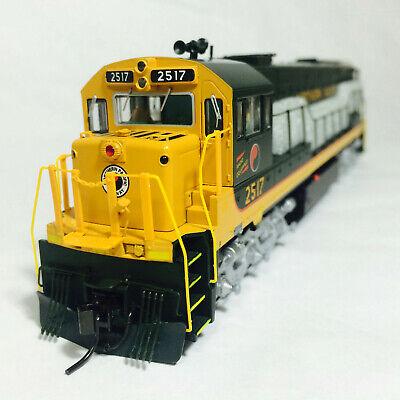 Korea Brass HO 1/87 Scale GE U25C U252011 Northern Pacific #2517 DC Model Train
