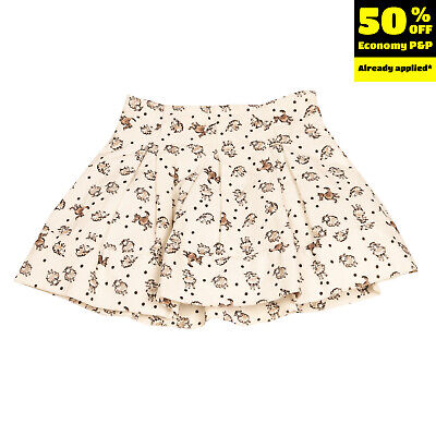 RRP €140 SIMONETTA MINI Velour Skirt Size 6Y / 122CM Sheep & Wolf Made in Italy