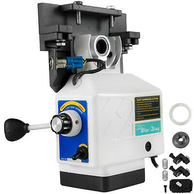 450in-lb Power Feed X-axis 200rpm 220v For Bridgeport Type Milling Machine