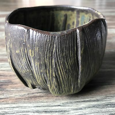 Reid Ozaki Studio Pottery Stoneware Tea Bowl Chawan Northwest Studio Pottery