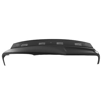 2002 2003 2004 2005 Dodge Ram Molded Dash Cover Cap Skin 1 Piece Overlay Black
