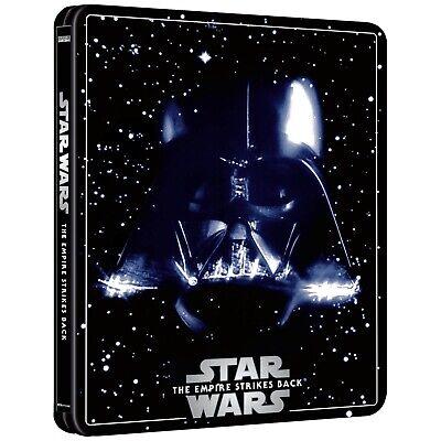 Star Wars Episode V The Empire Strikes Back BLU RAY STEELBOOK 4K ULTRA HD P/Orde
