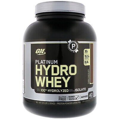 OPTIMUM NUTRITION Platinum Hydrowhey Protein Powder, 100% Hy