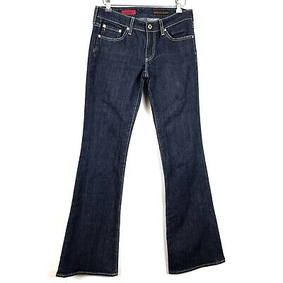 Ag The Club Dark Wash Flare Stretch Jeans Womens Size 27 - Club Flare Jean