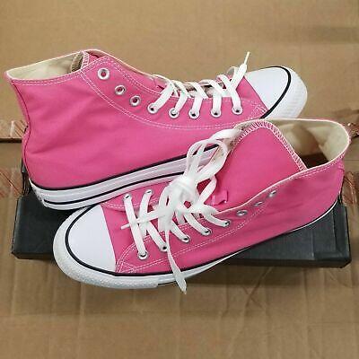 Converse Chuck Taylor All Star Hi Pink Paper High Top (Chuck Taylor Pink Top)