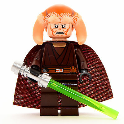 LEGO® Star Wars - Jedi Meister Saesee Tiin Figur aus 9526  **SEHR GUT** ()