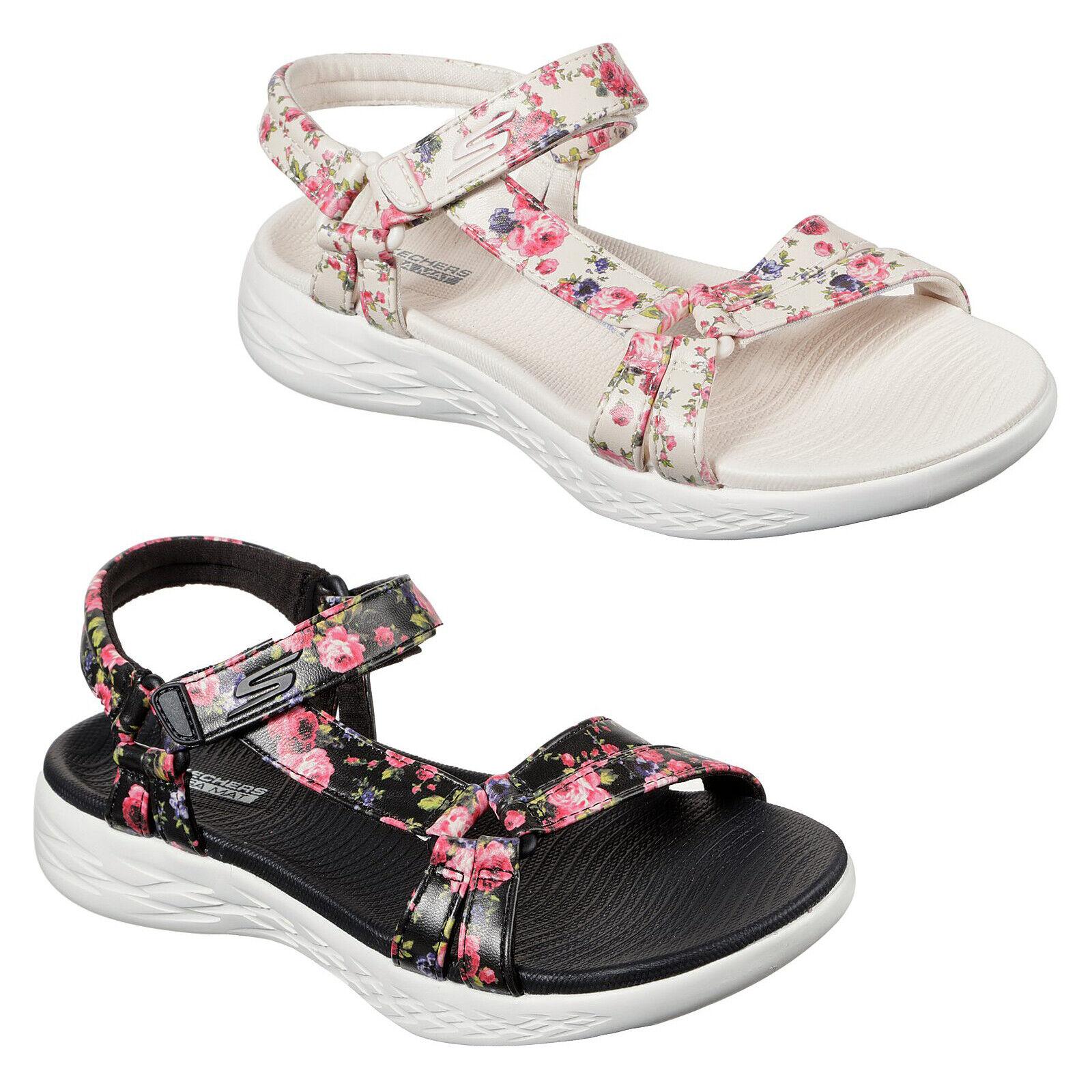 Go 600 Fleur Strap Flower Summer Shoes