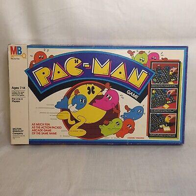 Vintage 1980 Pac-Man Board Game Milton Bradley