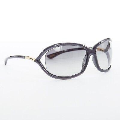 0dde0e0954 TOM FORD Jennifer soft square cutaway lens grey gradient lens sunglasses
