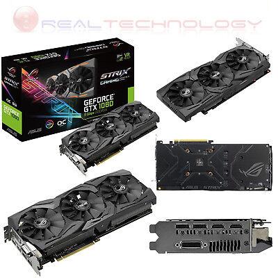 ASUS Geforce Rog Strix GTX 1060 Grafikkarte Von 6 GB, VGA, Schwarz (d1v)