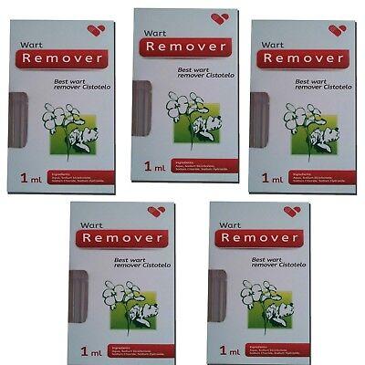 5x Best Wart Removal Get Rid Of Warts Treatment Skin Tags Mole Plantar