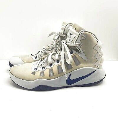 NIke Hyperdunk 2016 Mens White Basketball Shoes Size 10