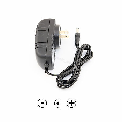 AC Power Adapter 12V 2A DC Supply Regulated Wall Wart Charger 5.5 x 2.1/2.5mm