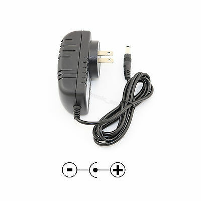 AC 100-240V DC 12V 2A 5.5 x 2.1/2.5mm Wall Charger Power Supply Adapter US Plug